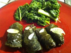 Thumbnail image for Lamb Dolmas (Stuffed Grape Leaves)