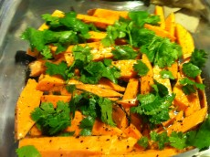 Thumbnail image for Baked Cilantro Sweet Potato Fries