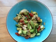 Thumbnail image for 5-Minute Pesto Chicken Salad