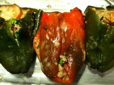 Thumbnail image for Roasted Stuffed Peppers with Goat Cheese