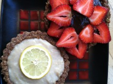 Thumbnail image for Assorted Tartlettes: Lemon Coconut and Raw Chocolate Banana