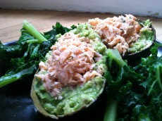 Thumbnail image for Salmon and Guacamole Bowls