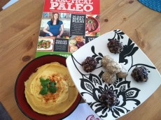 Thumbnail image for Practical Paleo Book Review and Recipe Demonstration (Video): Creamy Cauliflower Hummus and Vanilla Bean Tahini Truffles