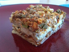Thumbnail image for Gluten-free Lasagna with Italian Sausage and Basil Cashew Cheese