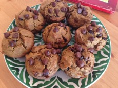 Thumbnail image for Buckwheat Pumpkin Spice Chocolate Chip Muffins